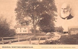 Original Whittier Homestead in Haverhill, Massachusetts