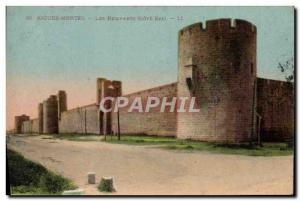 Old Postcard Acute Dead Remparts