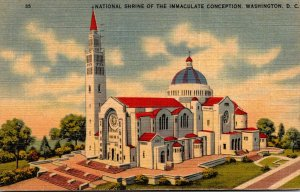 Washington D C National Shrine Of The Immaculate Conception 1944
