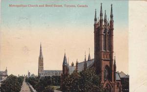 Exterior,Metropolitan Church and Bond Street,Toronto,Canada,PU-00-10s