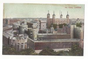 UK England London The Tower Vtg Postcard ca 1910