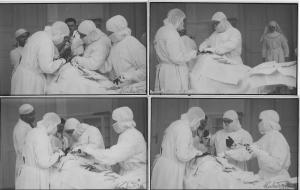 Lot 4 early real photo postcards doctors surgery intervention inter-war medicine