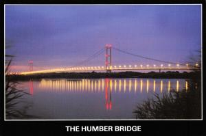 Postcard The Humber Bridge, Humberside by Marine Art Posters G10