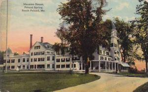 Maine South Portland Mansion House Poland Spring 1916
