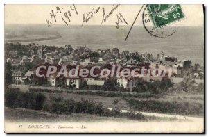 Old Postcard Panorama Houlgate