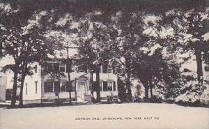 New York Johnstown Johnson Hall Built 1762 Artvue