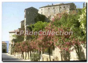 Postcard Modern Panorma From Corsica Sartene
