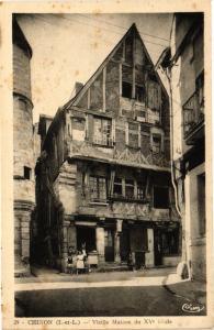 CPA  Chinon (I.-et-L.) - Vieille Maison du XV siécle  (228968)