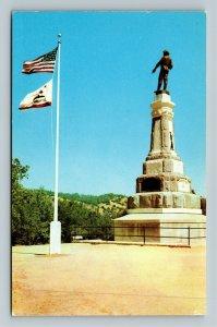 Coloma CA-California, Marshall Monument, Chrome Postcard