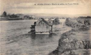 Turkey Adana (Cilicie) Cilicia - Moulin au milieu du Fleuve Sihoun