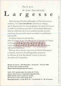 Postcard Modern Louvre Party Took Starobinski