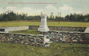 BOONSBORO , Maryland , 1900-10s ; Monument to Gen, Reno.