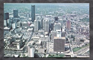 dc155 - ATLANTA Georgia 1977 Aerial View of Peachtree Center
