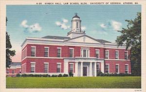 Georgia Athens Hirsch Hall Law School Building Univesity Of Georgia
