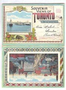 Toronto , Ontario , Canada , 1910-20s ; Folder postcard