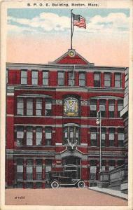Massachusetts  Boston  B.P.O.E. Building