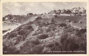 RP; Rock Gardens, East Cliff, Folkestone, Kent, England, United Kingdom,  PU-...