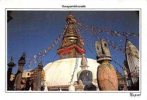 Nepal Swayam Bhunath Stupa,,,