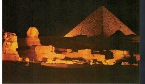 Postcard - Giza - Sound and Light at the Pyramids of Giza