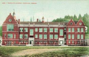 Postcard Portland Academy Oregon