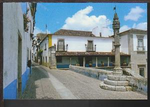 Scene Obidos Portugal Postcard BIN