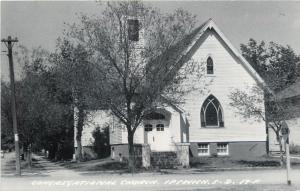 Ipswich S D~Congregational Church~c1950 Real Photo Postcard
