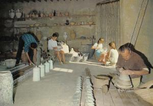 Almeria Pottery Workshop Spanish Postcard