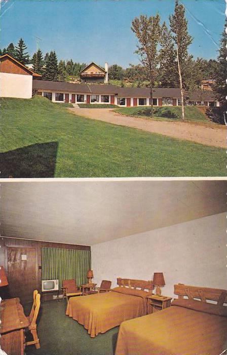 Motel Des Pays D'en Haut , VAL DAVID , Quebec , Canada , PU-1974