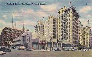 Oregon Portland Central Bus Depot