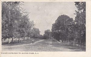 ALCYON PARK, New Jersey , 1901-07; Wagon entrance