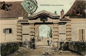 CPA  Beaumont - Porte du Chateau  (380350)