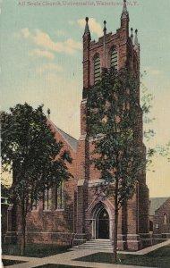 WATERTOWN, New York, PU-1910; All Souls Church, Universalist