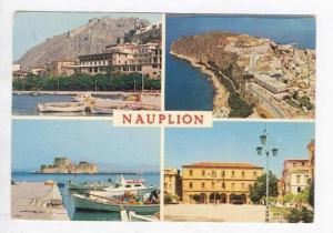 Multivew: Harbor and Buildings, Nauplion, Greece 1950-70s