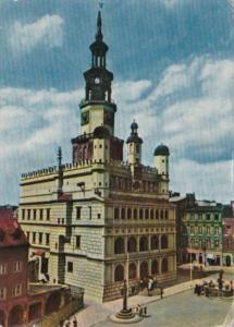 Poland Poznan The Renaissance Town Hall 1967