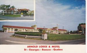 Arnold Lodge and Motel, St. Georges, Beauce, Quebec, Canada, 40-60s