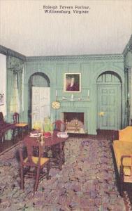 Virginia Williamsburg Raleight Tavern Parlour
