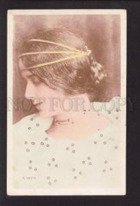 073619 CLEO DE MERODE Ballet Star REUTLINGER Photo Tinted