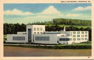 Maryland Frostburg Beall High School