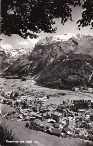 Switzerland Engelberg mit Titlis Totalansicht 1963 Photo