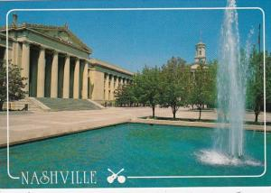 Tennessee Nashville The Legislative Plaza In Downtown Nashville Near The Stat...