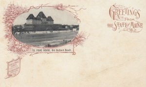 OLD ORCHARD BEACH , Maine , PMC 1898 ; Fiske House