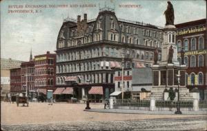 Providence RI Butler Exchange c1910 Postcard