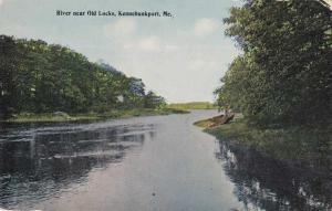 River near the Old Locks - Kennebunkport, Maine - DB