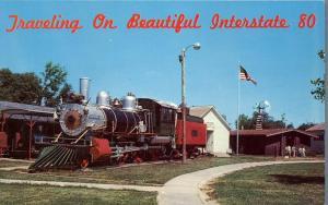 Minden NE, Nebraska - 1889 Baldwin Locomotive at Pioneer Village