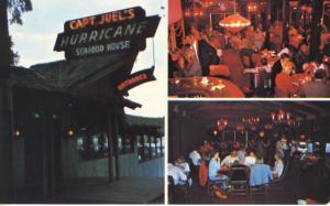 Captain Juel's Hurricane Seafood House ~ Little River SC South Carolina Postcard