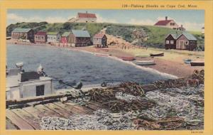 Massachusetts Cape Cod Fishing Shacks On Cape Cod