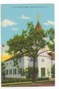 St. Paul's Catholic Church, New Bern, North Carolina, 1930-1940s