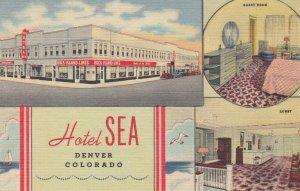 HOTEL SEA , DENVER , Colorado , 1930-40s