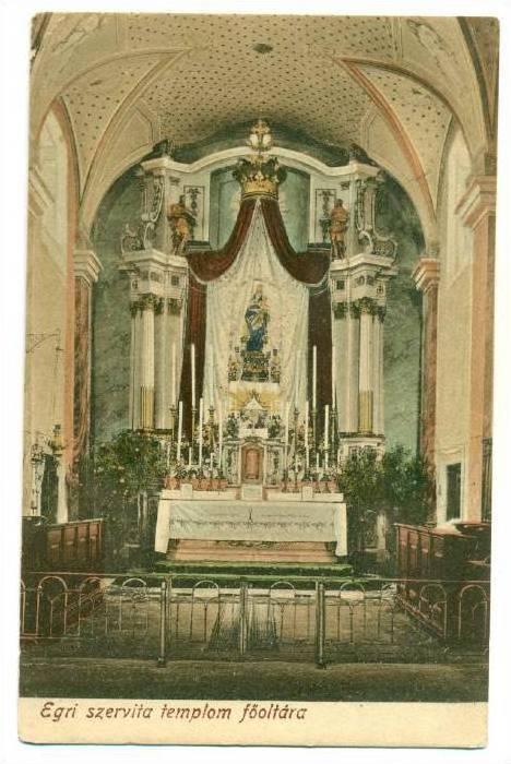 Egri szervita templom fooltara, Hungary, 00-10s