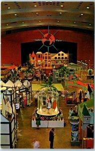 Birmingham, Alabama Postcard The FESTIVAL OF ARTS Building Interior c1960s